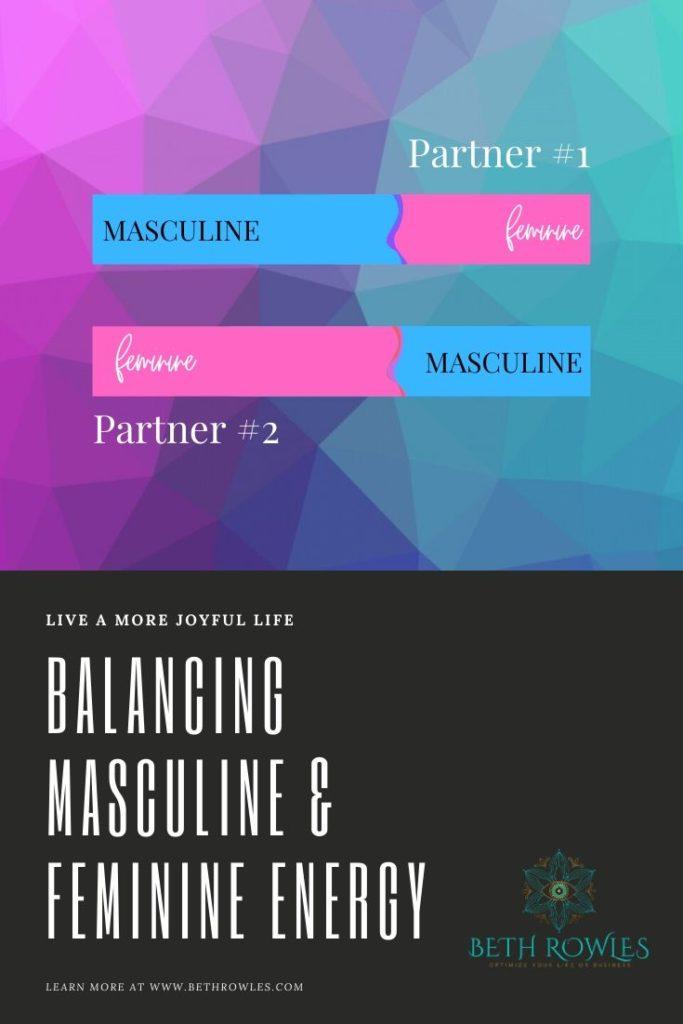 Balancing masculine & feminine Energy