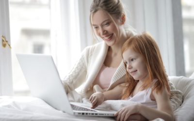 Working at home with kids? Read my 10 best tips.