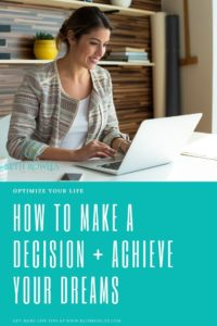 DREAM Process Make a decision achieve your dreams Beth Rowles