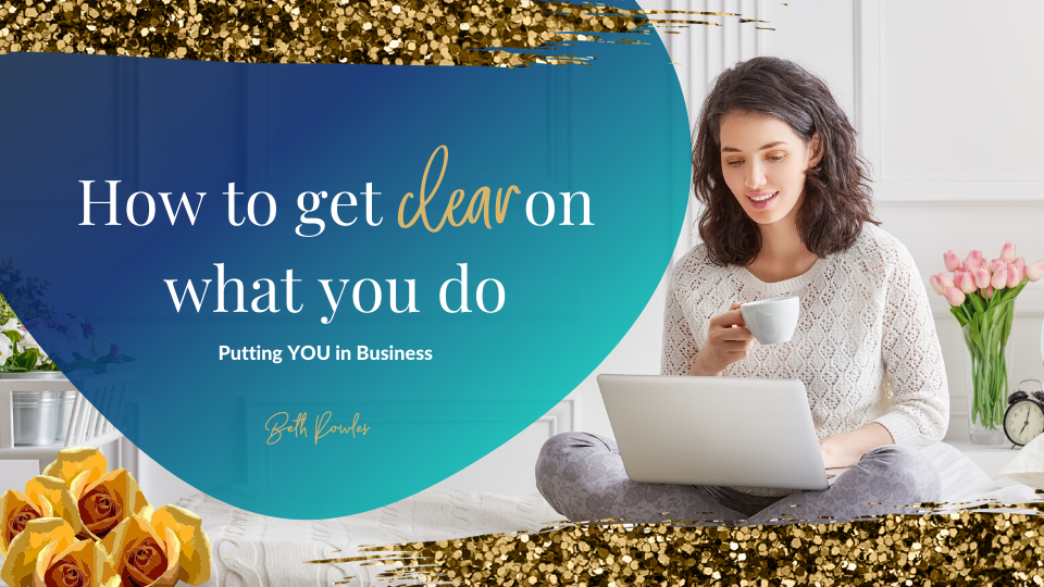 How to Get Clear on What You Do in Business